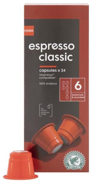 24er-Pack Kaffeekapseln Espresso Classic - 17180005 - HEMA
