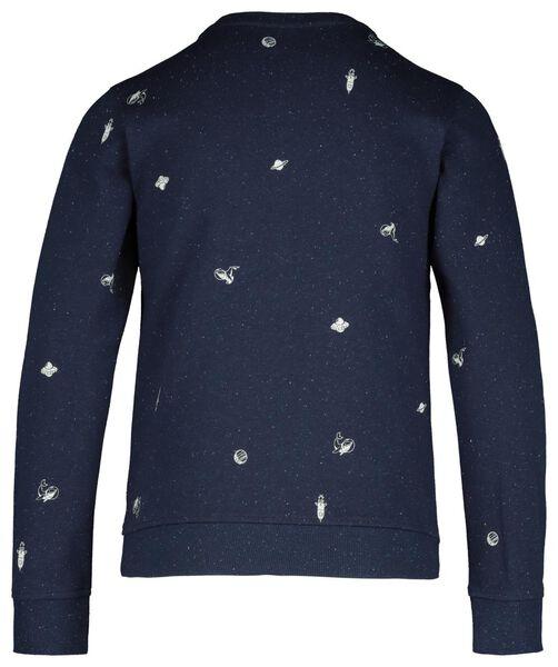 children's sweater dark blue dark blue - 1000017705 - hema