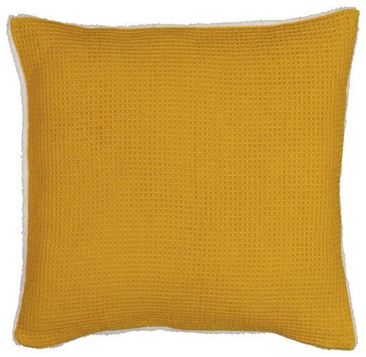 cushion cover honeycomb 50x50 - sherpa - yellow - 7322002 - hema