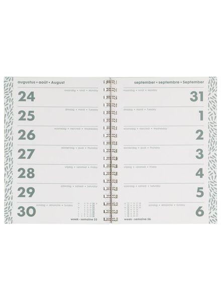 agenda 2020 - 24.5 x 18 cm - multilingue - 14600240 - HEMA