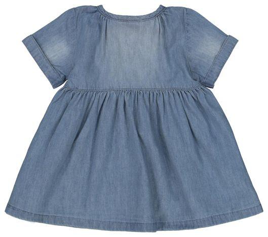 Baby-Kleid jeansfarben jeansfarben - 1000022584 - HEMA