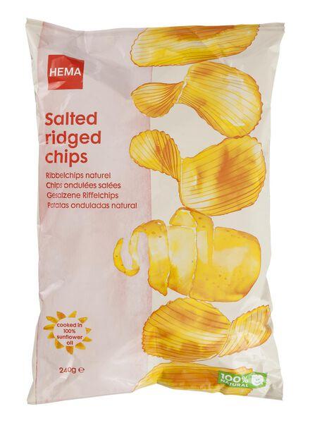 chips ondulés nature - 10661126 - HEMA