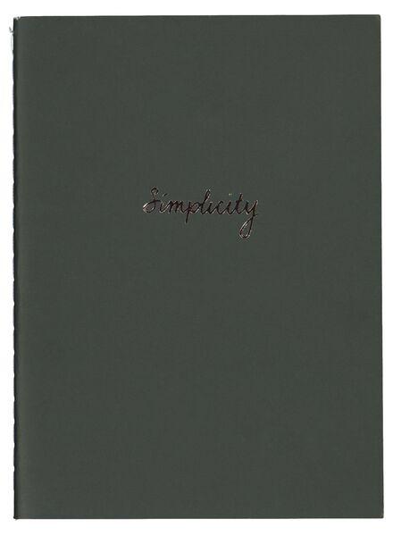 3 cahiers A6-lignés - 14136016 - HEMA