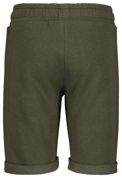 2-pack children's sweat shorts army green army green - 1000018915 - hema