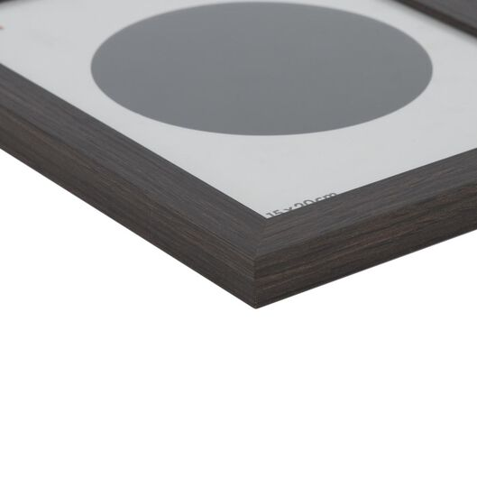 fotolijst hout 15x20 donkerbruin - 13611128 - hema