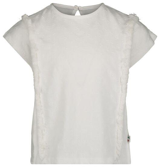 children's T-shirt white white - 1000019008 - hema