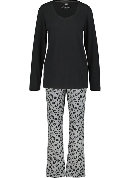women's pyjamas black black - 1000017257 - hema