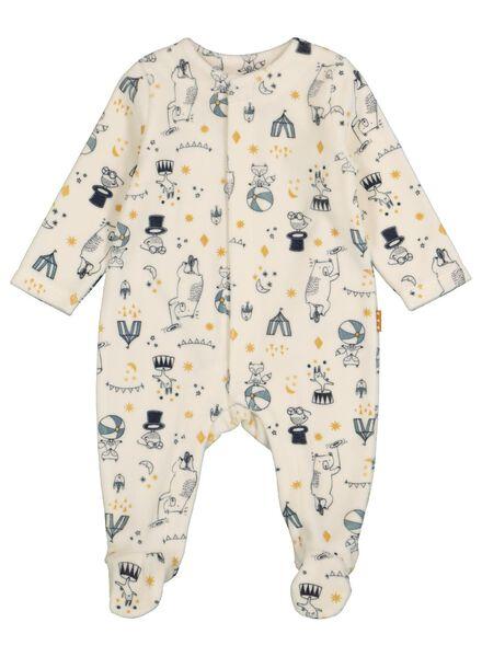 newborn jumpsuit white white - 1000016886 - hema