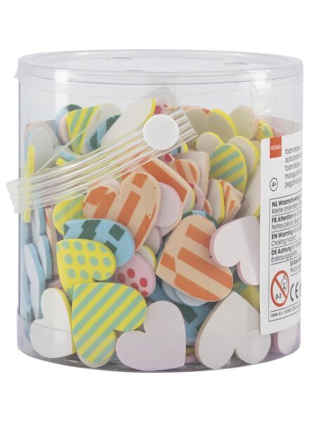 foam stickers hearts - 15920025 - hema