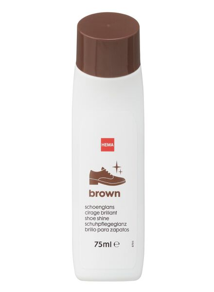 cirage brillant brun - 20500082 - HEMA