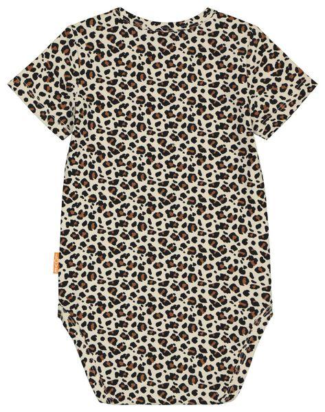 Body, elastische Biobaumwolle, Leopardenmuster eierschalenfarben eierschalenfarben - 1000023870 - HEMA