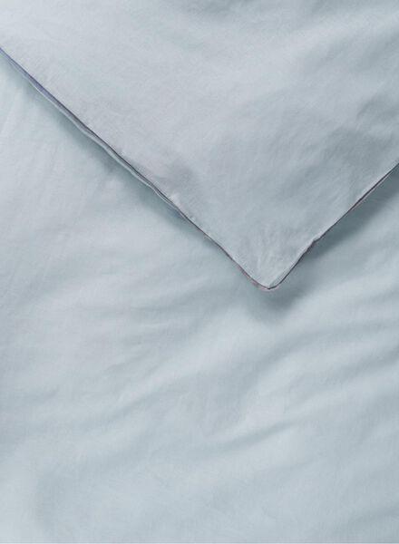 dekbedovertrek - linnen blauw - 1000015482 - HEMA