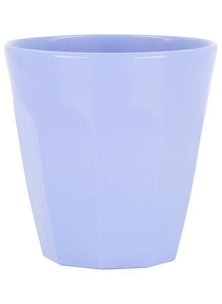 mug - 250 ml - mélamine - bleu - 80610067 - HEMA