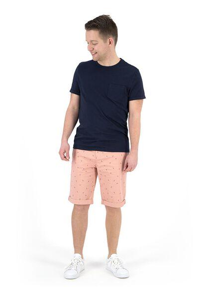 men's T-shirt dark blue dark blue - 1000019052 - hema