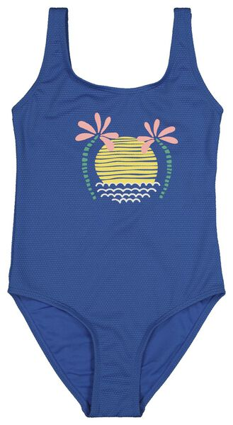 children's swimsuit mid blue mid blue - 1000018207 - hema