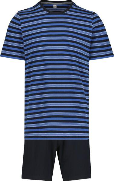 men's short pyjamas blue blue - 1000019187 - hema