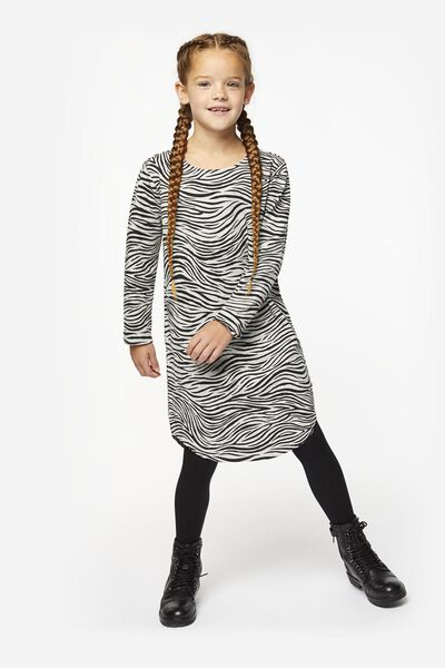 children's sweat dress grey melange grey melange - 1000020153 - hema