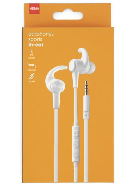 écouteurs intra-auriculaires sport - 39630083 - HEMA