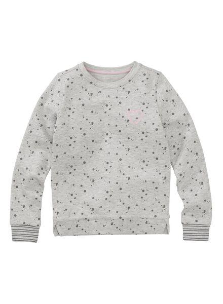 children's sweatshirt light grey light grey - 1000006042 - hema