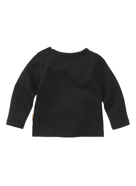 newborn T-shirt black black - 1000005625 - hema