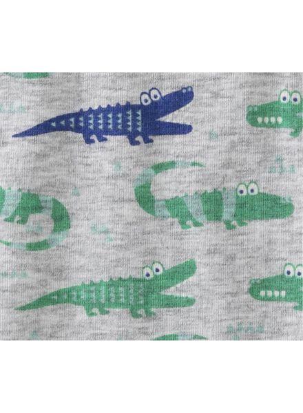 2-pack children's vests grey melange grey melange - 1000006505 - hema
