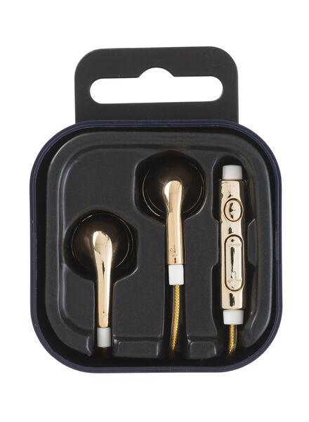 écouteurs avec réglage du microphone et du volume - 39650035 - HEMA
