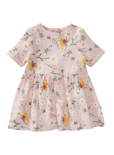 HEMA Baby Kleid Hellrosa