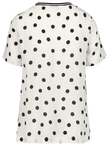 women's top white/black white/black - 1000019421 - hema