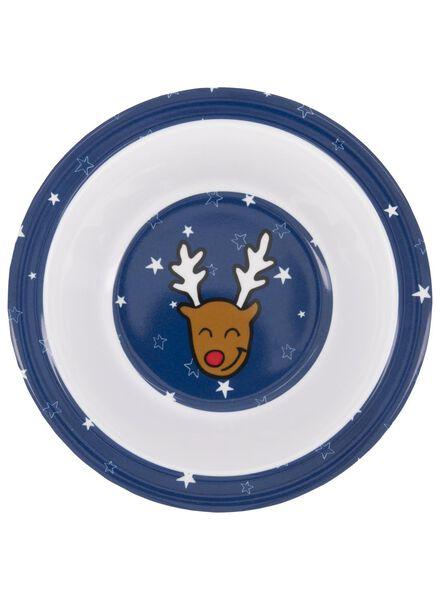 melamine dish Ø 16 cm reindeer - 25600063 - hema