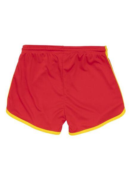 children's shorts WC Belgium red red - 1000007238 - hema