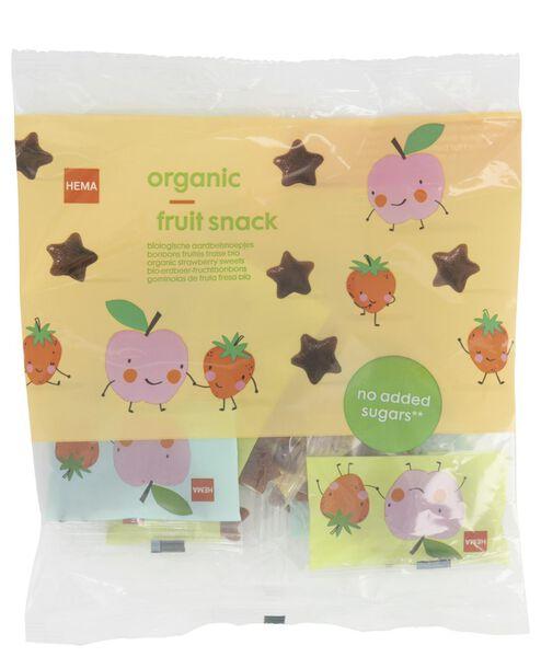 Image of HEMA 10 Small Bags Organic Strawberry Candies