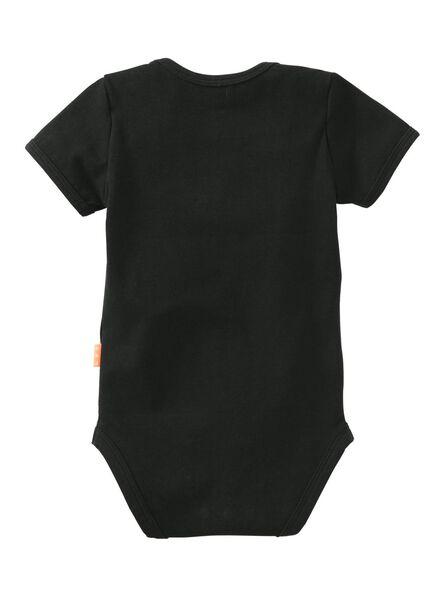 baby bodysuit - organic cotton black black - 1000006659 - hema