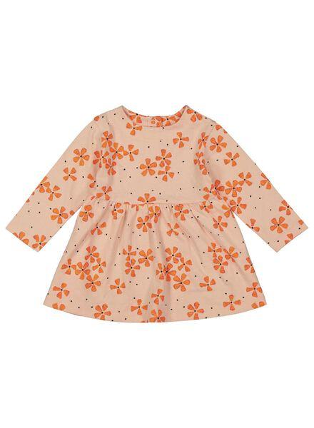Babykleiderroecke - HEMA Baby Kleid Lachsfarben - Onlineshop HEMA
