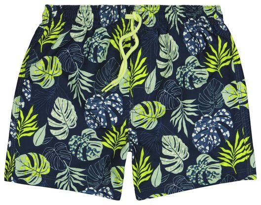 Kinder-Badehose, Blätter grün grün - 1000023857 - HEMA