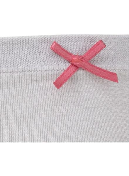 women's briefs grey melange grey melange - 1000008046 - hema