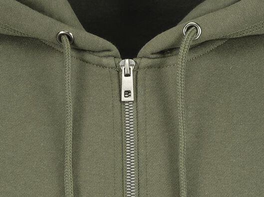 men's cardigan with a hood army green army green - 1000020163 - hema