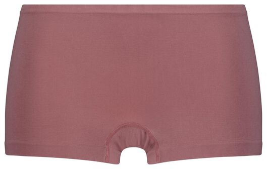 Damen-Boxershorts, nahtlos, Mikrofaser rosa rosa - 1000024117 - HEMA