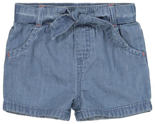 baby denim shorts denim - 1000019204 - hema