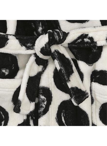 f644c14beb709 peignoir enfant noir/blanc noir/blanc - 1000006650 - HEMA