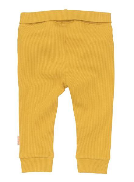 pantalon bambou stretch pour nouveau-né-prématuré jaune jaune - 1000013405 - HEMA