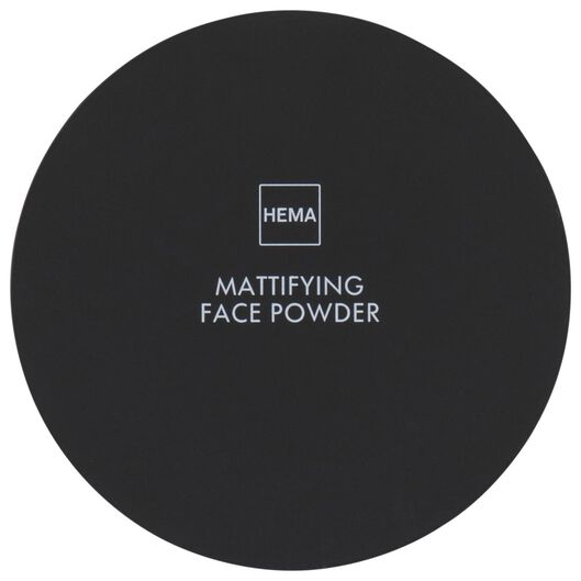 mattifying facial powder 02 creamy rose - 11290152 - hema
