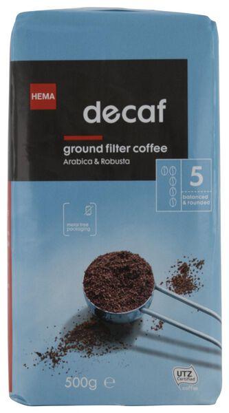Filterkaffee entkoffeiniert – 500 g - 17170004 - HEMA