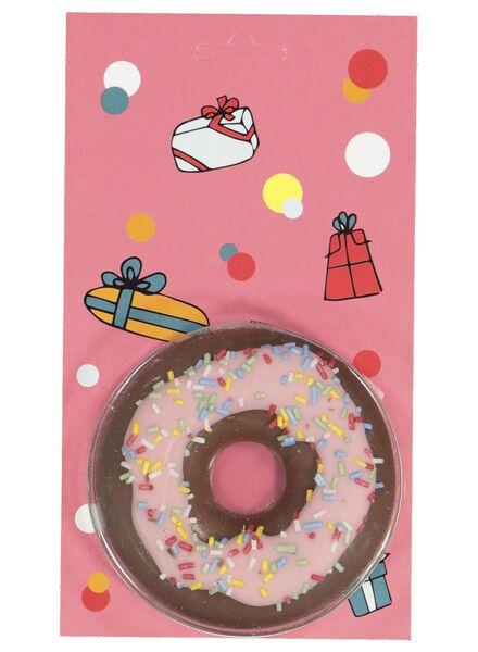 donut chocolat - 10030407 - HEMA