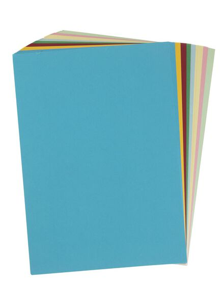 60er-Pack bunte Pappe, DIN A4 - 15990317 - HEMA