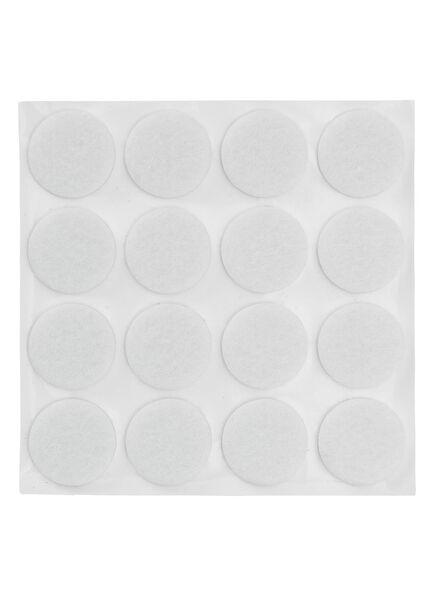 Image of HEMA 16-pack Self-adhesive Felt Gliders (white)