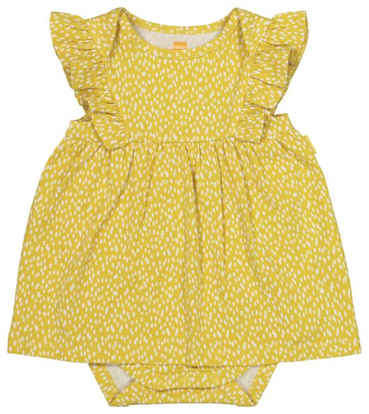 HEMA Newborn-Bodykleid Gelb