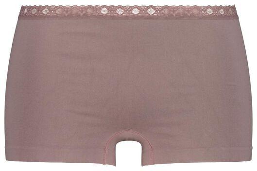 boxer femme sans couture violet violet - 1000020781 - HEMA