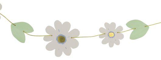Blumen-Girlande, 2 m, Papier, weiß - 25800144 - HEMA
