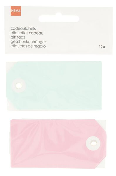 Image of HEMA 12 Gift Labels