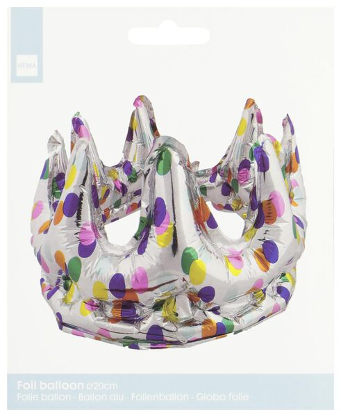ballon alu couronne Ø 20 cm - 14230269 - HEMA